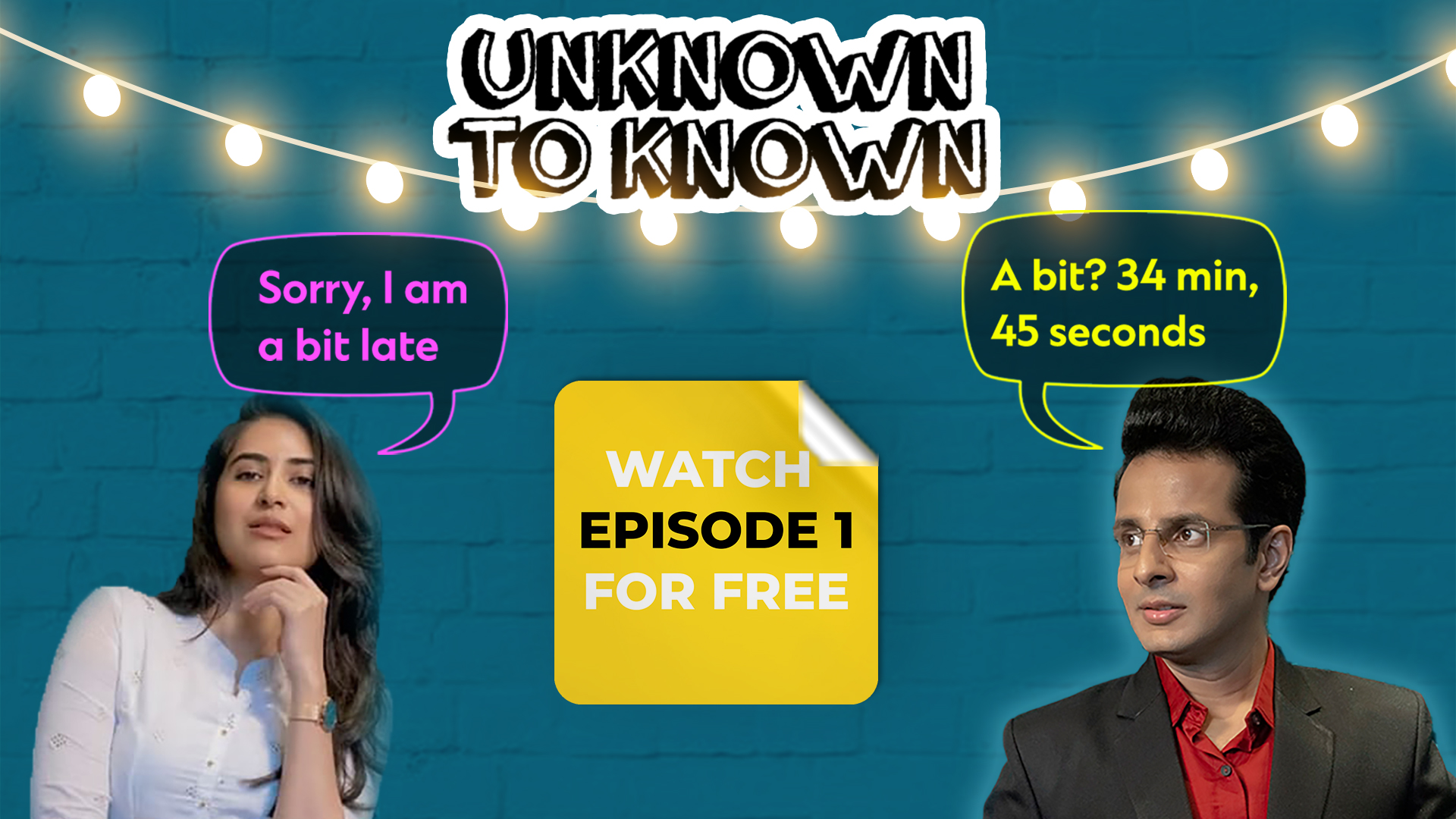Unknown To Known S01 E01 : Ajanya