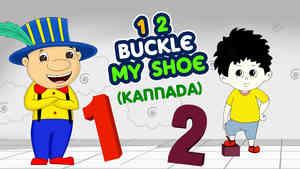 1, 2, Buckle My Shoe - Kannada