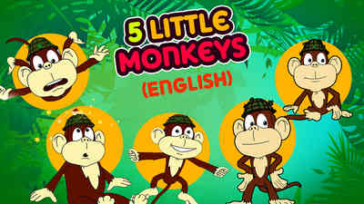 5 Little Monkeys - Samba Style
