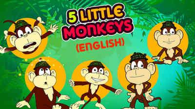5 Little Monkeys - Samba Style