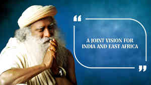 A Joint Vision for India and East Africa