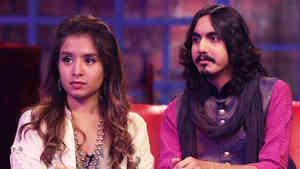 Aditya Gadhvi and Aishwarya Majmudar