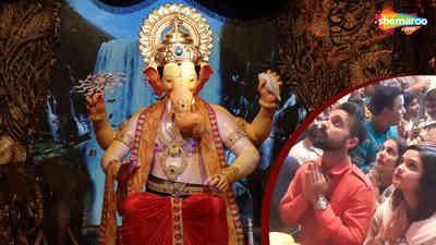 Ajinkya Rahane Visit Lalbaugcha Raja 2018