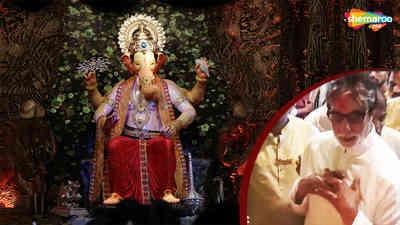 Amitabh Bachchan Visit Lalbaugcha Raja 2018