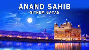 Anand Sahib Nitnem Gayan