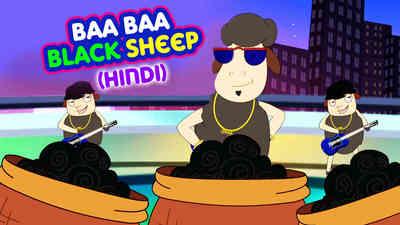 Baa Baa Black Sheep - Pop Rock Style - Hindi