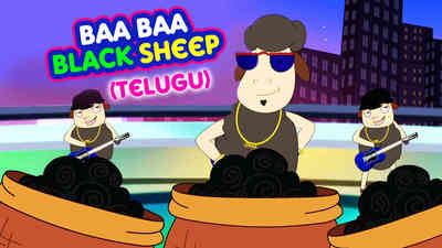 Baa Baa Black Sheep - Pop Rock Style - Telugu