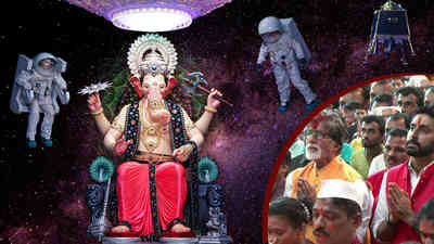 Bachchan Family Visit Lalbaugcha Raja 2018