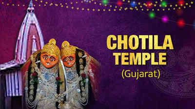 Chamunda Mandir, Chotila, Gujarat