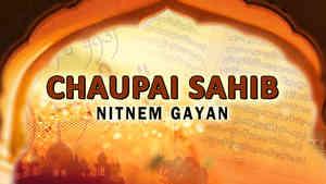 Chaupee Sahib Nitnem Gayan