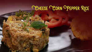 Cheese Corn Pepper Rice
