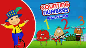 Counting Numbers - Pop Rock Style - Malayalam