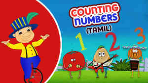Counting Numbers - Pop Rock Style - Tamil