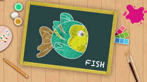 Easy Fish Drawing For Kids