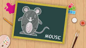 Easy Mouse Drawing For Kids