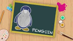 Easy Penguin Drawing For Kids