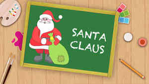 Easy Santa Claus Drawing Christmas Special