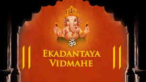 Ekadantaya Vidmahe - Male