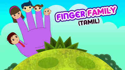 Finger Family - Female Voice - Pop Rock Style - Tamil