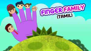 Finger Family - Female Voice - Pop Rock Style - Tamil