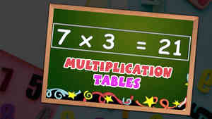 Fun-N-Learn Multiplication Tables