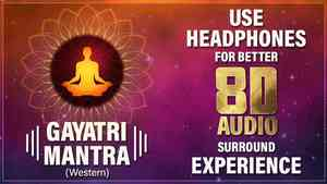 Gayatri Mantra Western 8D Audio