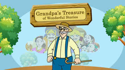 Grandpa's Treasure Of Wonderful Stories