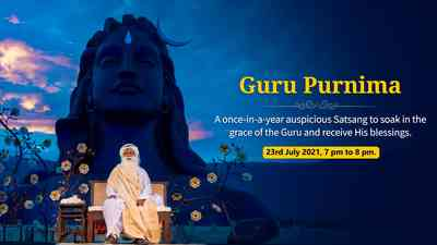 Guru Purnima Live With Sadhguru