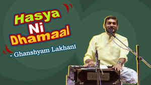 Hasya Ni Dhamaal : Ghanshyam Lakhani Part 7 - Dayro - Gujarati Comedy
