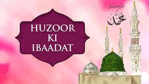 Huzoor Ki Ibaadat