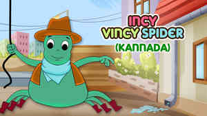 Incy Wincy Spider - Pop rock Style - Kannada