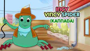 Incy Wincy Spider - Pop rock Style - Kannada