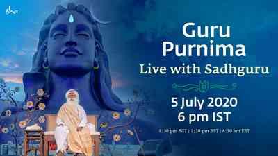 Isha Guru Purnima 2020 English
