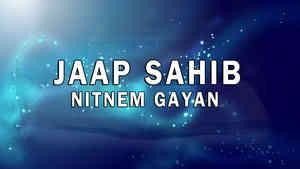 Jaap Sahib Nitnem Gayan