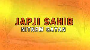 Japji Sahib Nitnem Gayan