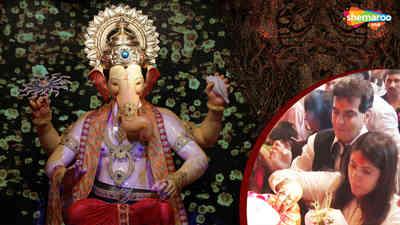 Jeetendra Visit Lalbaugcha Raja 2018