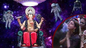 Kajal Agarwal Visit Lalbaugcha Raja 2019