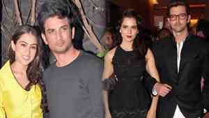 Kangana Compares Sara and Sushants Love Story With Her Affair With Hrithik