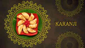 Karanji - Ganesh Festival Recipes