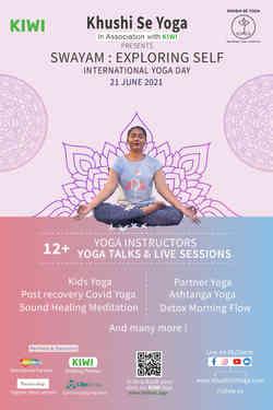 Khushi Se Yoga - International Yoga Day 2021