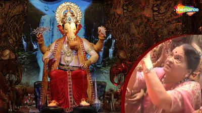 Kokilaben Dhirubhai Ambani Visit Lalbaugcha Raja 2018