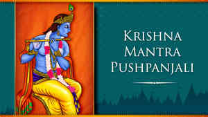 Krishna Mantra Pushpanjali - Male