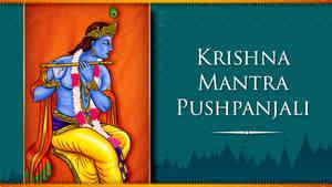 Krishna Mantra Pushpanjali - Male