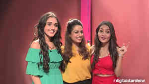 Likee Stars with Priyaa Raina - Kreetika Sharma and Tanya Sharma - Behind The Scenes