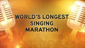 Longest Karoke Marathon - Shemaroo Bhakti