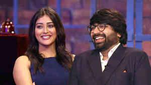 Malhar Thakar and Pooja Jhaveri