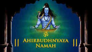 Om Ahirbudhnyaya Namah - Male