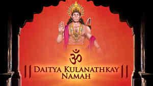 Om Daitya Kulanathkay Namah - Male