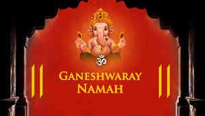 Om Ganeshwaraya Namah - Male