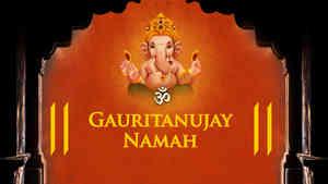 Om Gauritanujaya Namah - Male